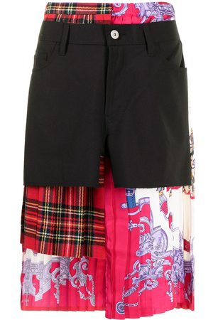 Junya Watanabe Women Asymmetrical Skirts - Layered asymmetric skirt - Multicolour