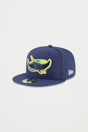 New Era Men Hats - 59FIFTY Tampa Bay Rays Fitted Baseball Hat