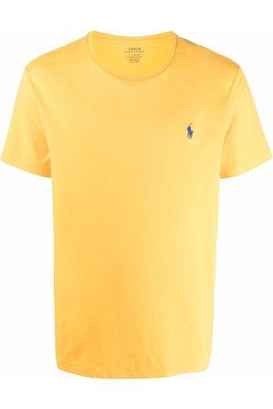 Polo Ralph Lauren Men Short Sleeve - Embroidered-logo short-sleeved T-shirt