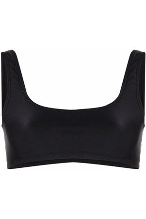 THE ANDAMANE Hollywood cropped bralette top
