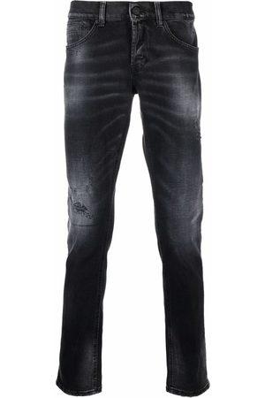 Dondup Men Slim - Distressed slim-fit jeans