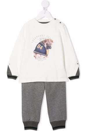 Lapin House Two-piece tracksuit set - Grey