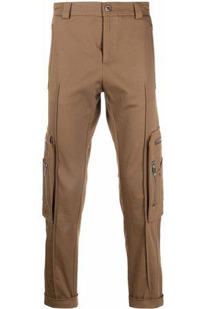 Les Hommes Men Skinny Pants - Mid-rise slim-fit trousers