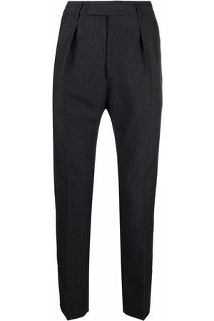 Pt01 Slim-cut tailored trousers - Grey
