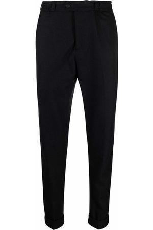 Pt01 Slim-cut wool trousers