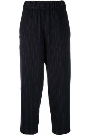 Barena Pinstripe-print trousers