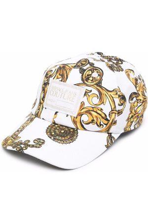 Versace Jeans Couture Baroque print baseball cap