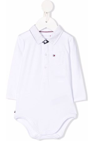 Tommy Hilfiger Junior Flag-embroidered cotton body