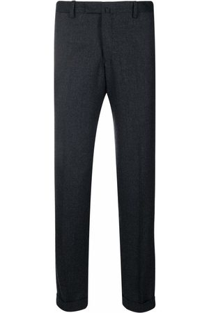 Briglia 1949 Slim-fit wool tailored trousers - Grey