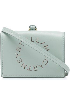 Stella McCartney Women Wallets - Stella Logo strap-detail wallet