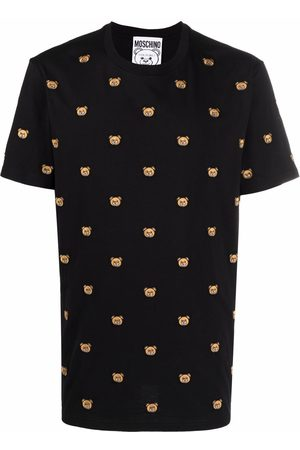 Moschino Embroidered-motif short-sleeve T-shirt