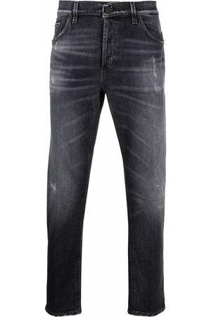 Dondup Men Slim - Stonewashed slim-cut jeans