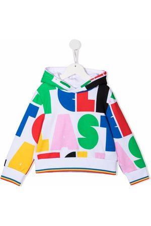 Stella McCartney Kids Graphic-print cotton hoodie