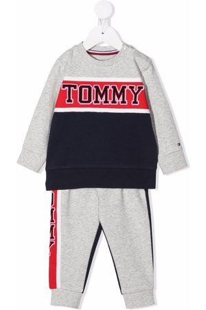 Tommy Hilfiger Junior Logo-print cotton tracksuit set