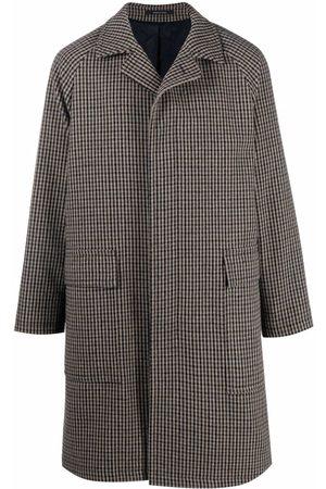 TAGLIATORE Men Coats - Checked single breasted coat
