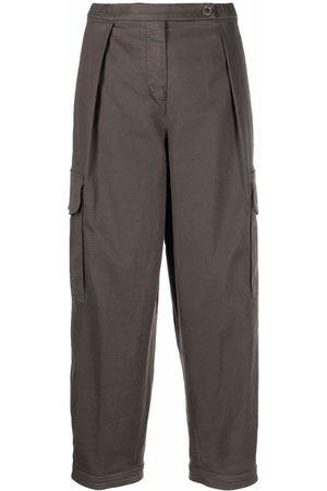 Aspesi Cropped cargo trousers - Grey