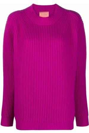 THE ANDAMANE Faye rib-knit jumper