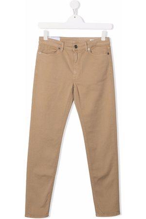 DONDUP KIDS Straight - Mid-rise straight-leg jeans - Neutrals