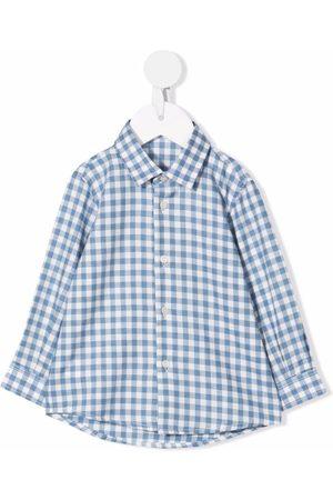 Il Gufo Check button-down shirt