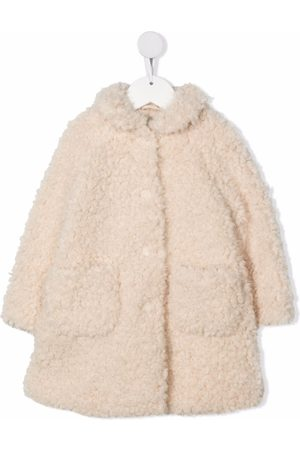 Il Gufo Single-breasted fitted coat - Neutrals