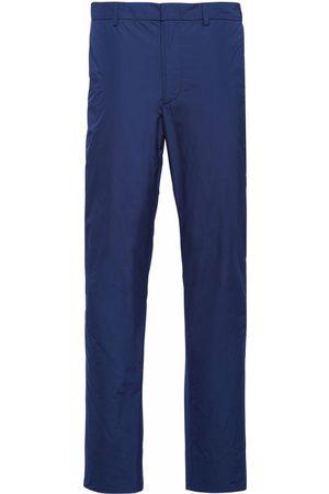 Prada Technical poplin trousers