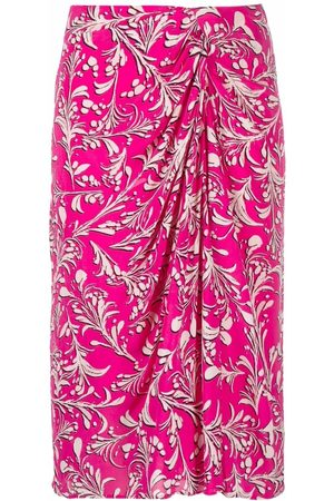 Isabel Marant Étoile Collette abstract pattern-print skirt