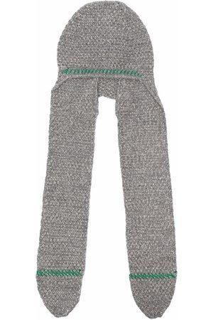 Maison Margiela Draped knitted hat - Grey