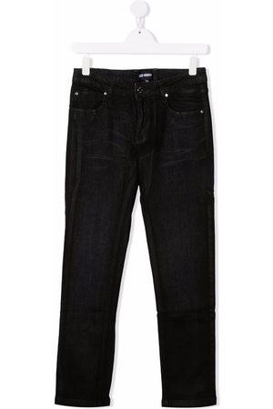 LES HOMMES KIDS TEEN high-rise skinny jeans