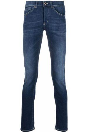 DONDUP Men Slim - Whiskered stonewash jeans