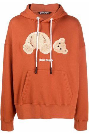 Palm Angels Bear-motif hoodie