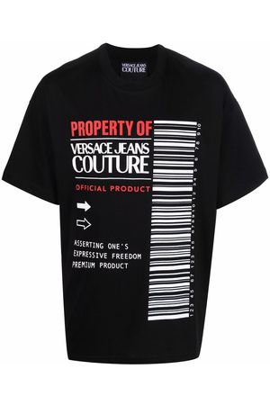 VERSACE Graphic-print short-sleeve T-shirt