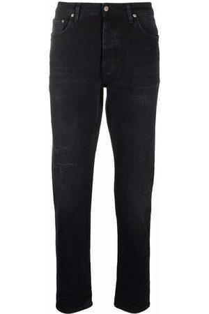 haikure Distressed straight-leg jeans