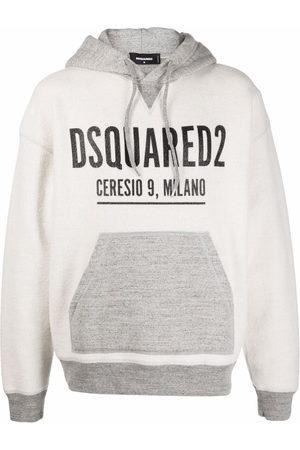 Dsquared2 Logo-print hoodie - Grey