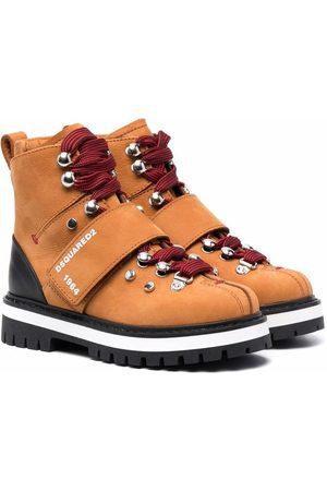 Dsquared2 Morbidone mountain boots - Neutrals