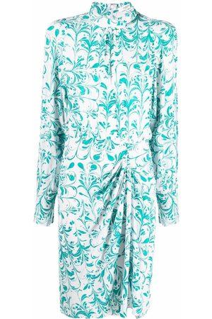 Isabel Marant Floral-print gathered dress