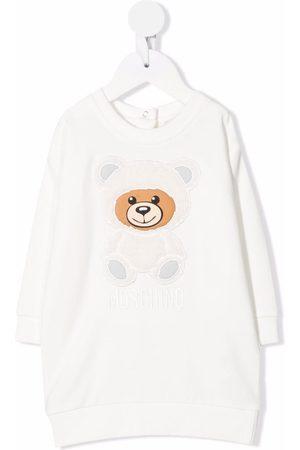 Moschino Teddy Bear-motif sweatshirt dress