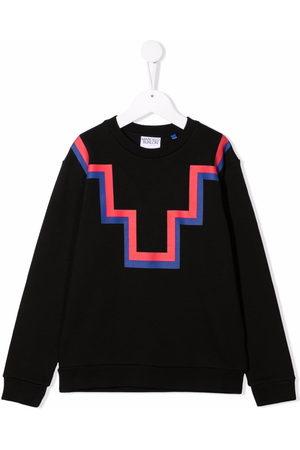 MARCELO BURLON Abstract-print sweatshirt