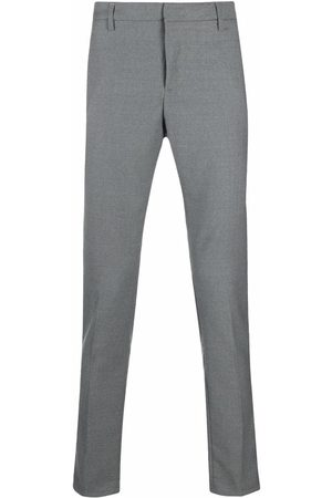 DONDUP Men Chinos - Slim-cut trousers - Grey