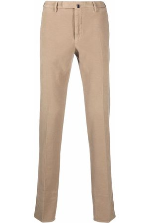 Incotex Slim-fit cotton trousers - Neutrals