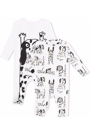 Stella McCartney Dog-print cotton pajamas