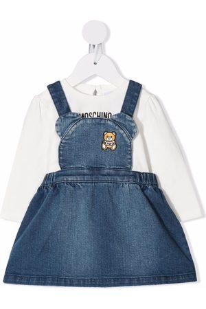 Moschino Teddy bear dress dungarees