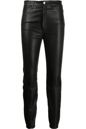 Sprwmn Skinny-cut leather trousers