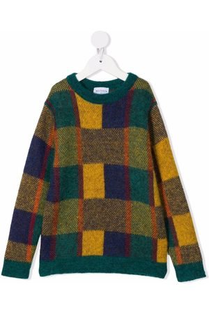 Wolf & Rita Colour-block knitted jumper