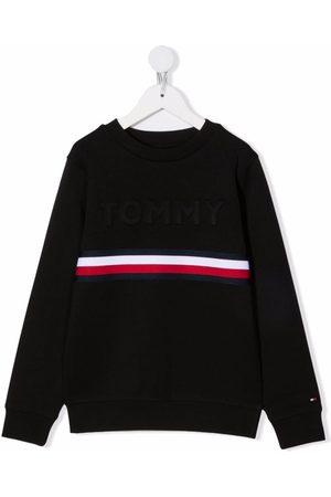 Tommy Hilfiger Junior Stripe detail sweatshirts