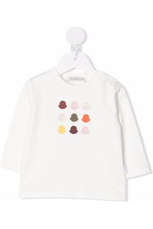 Moncler Enfant Logo-print long-sleeved T-shirt