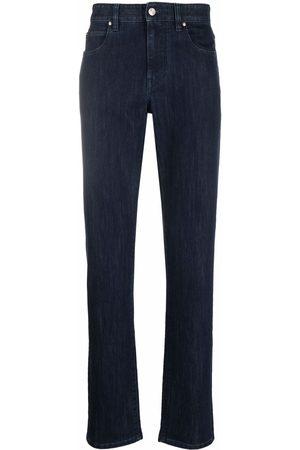 Z Zegna Logo patch straight-leg jeans