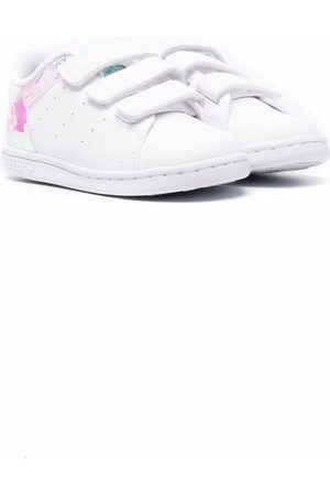 adidas Kids Touch-strap low-top trainers