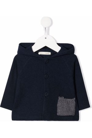 Zhoe & Tobiah Hooded wool cardigan