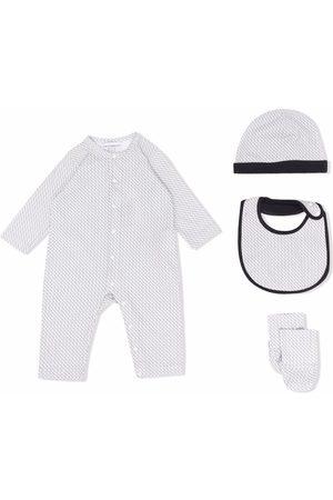 Emporio Armani Kids Logo print babywear set