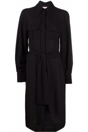 BLANCA Women Casual Dresses - Celosia tie-waist shirtdress